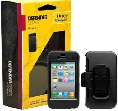 Otterbox Defender iPhone 4 4s Case w/Clip