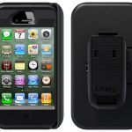 iPhone4s all black otterbox defender style case