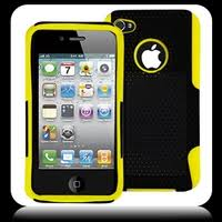 Ventilated Hybrid Case Yellow Black