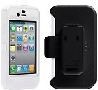 Otterbox Defender for iPhone 4 4s White and Black Holster