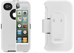 All White Otterbox Defender for iPhone 4/4s